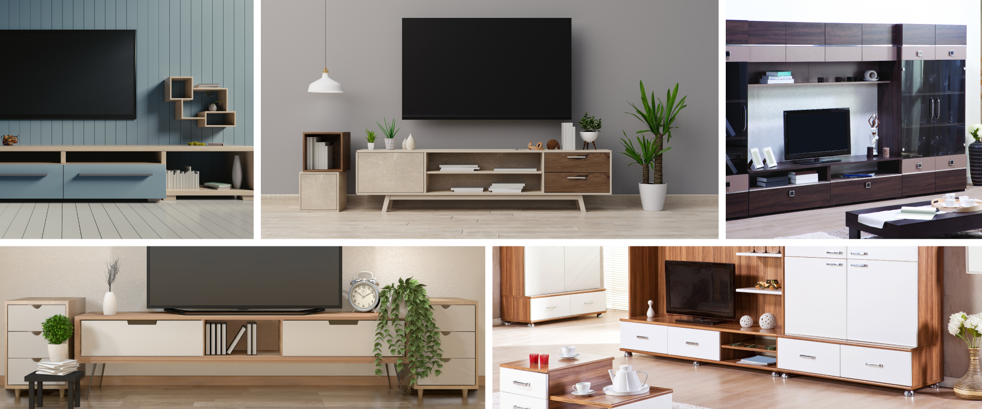 Latest tv unit desings for picture perfect view