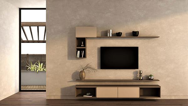 Modular tv cabinet design